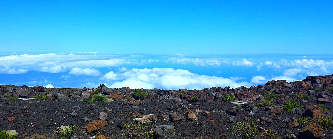 Above the clouds - Maui